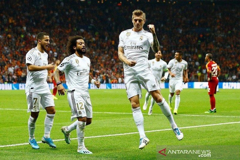 Madrid taklukkan Galatasaray dengan skor 1-0