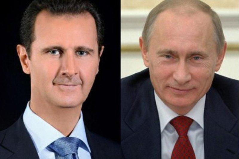 Presiden Bashar-Putin bahas situasi di Suriah Utara