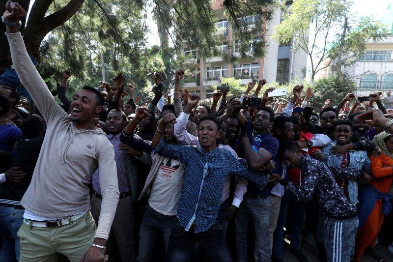 Penyanyi di Ethiopia meninggal, peminat  protes