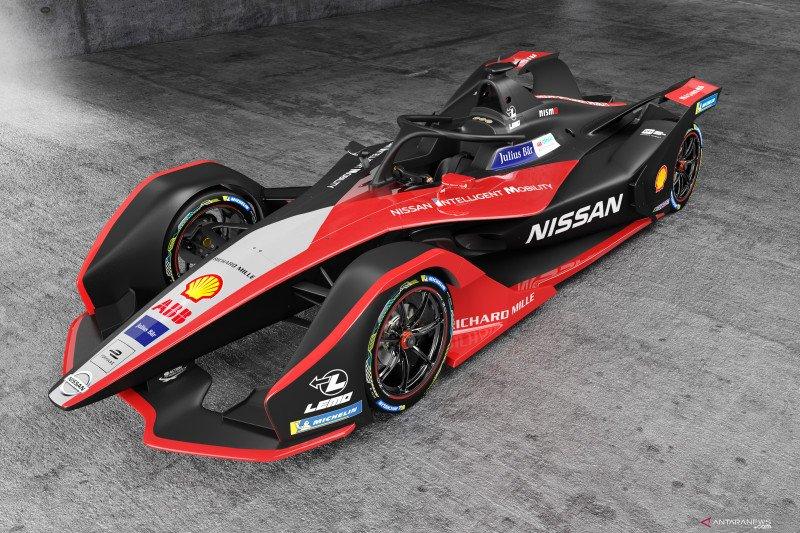 Ini tema mobil balap Nissan Formula E