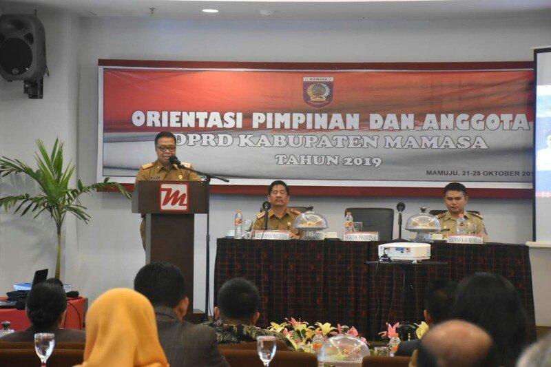 DPRD Mamasa  ikuti orientasi wawasan kebangsaan