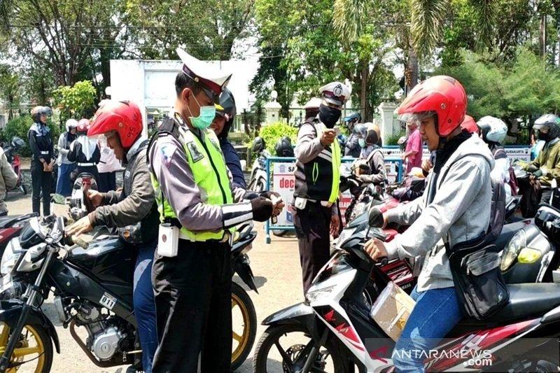 Polres Waykanan tilang 1.530 kendaraan