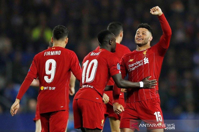 Liverpool bungkam tuan rumah Genk 4-1 Oxlade-Chamberlain cetak dua gol