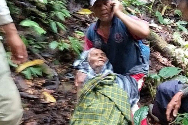 Kakek hilang di hutan Silayu Malalak selama tiga hari, ditemukan tim gabungan Pemkab Agam