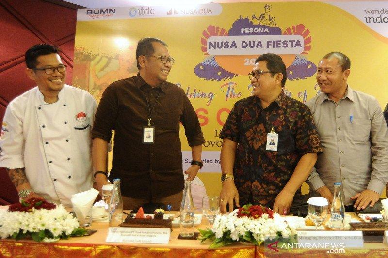 Pesona Nusa Dua Fiesta 2019 menargetkan 15.000 pengunjung