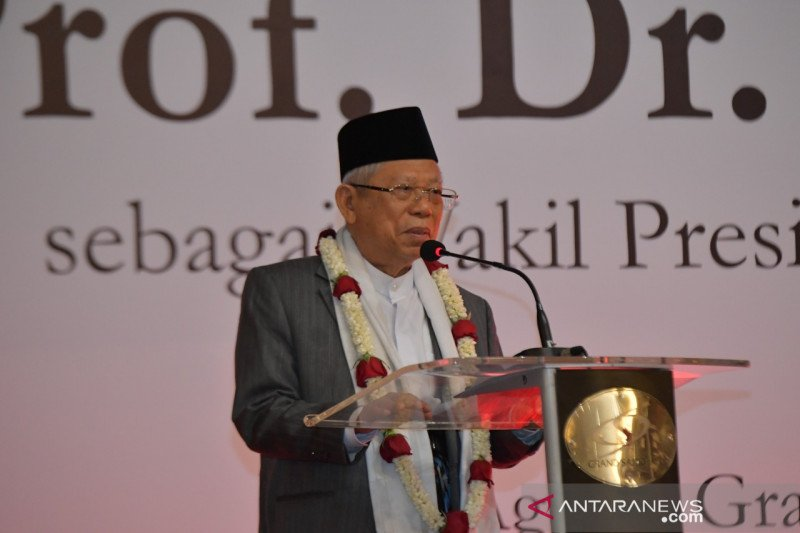 Wapres Ma'ruf: Presiden Jokowi menguji 'kekuatan' saya