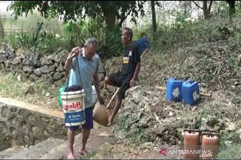 Kecamatan di Gunung Kidul kekurangan anggaran dropping air