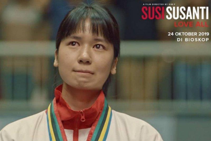 """Film """"Susi Susanti Love All"""" angkat legendaris bulu tangkis"""