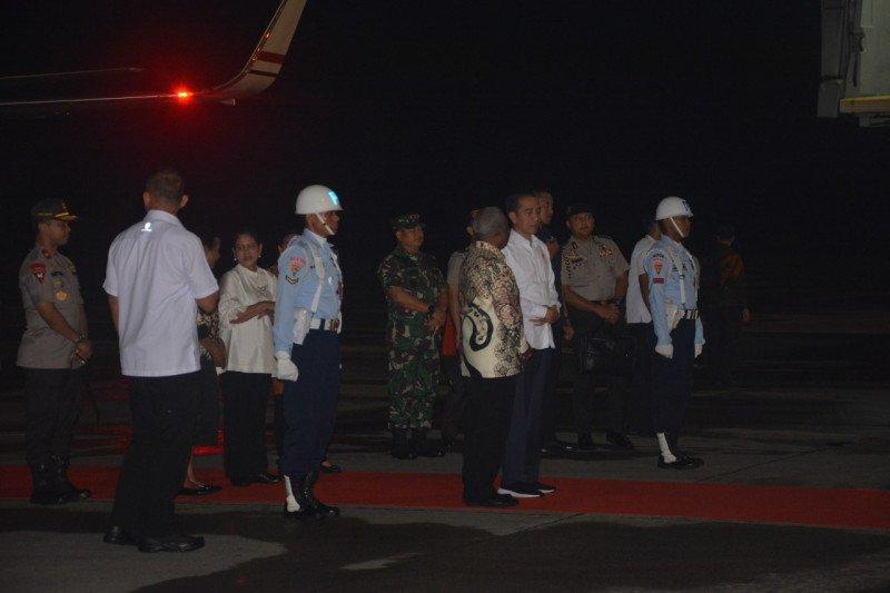 Presiden Jokowi dijadwalkan bermalam dan melihat senja di Kaimana