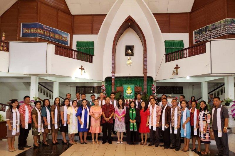 DLR ibadah bersama Jemaat Dame Tosuraya