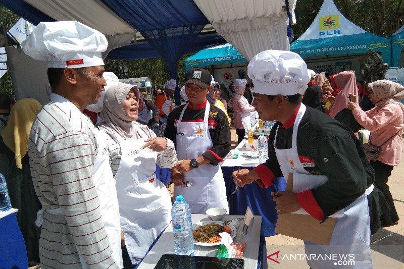 PLN gelar lomba masak meriahkan Hari Listrik Nasional ke-74