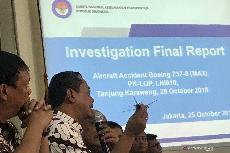 Penyebab jatuhnya pesawat Lion Air JT 610 versi KNKT