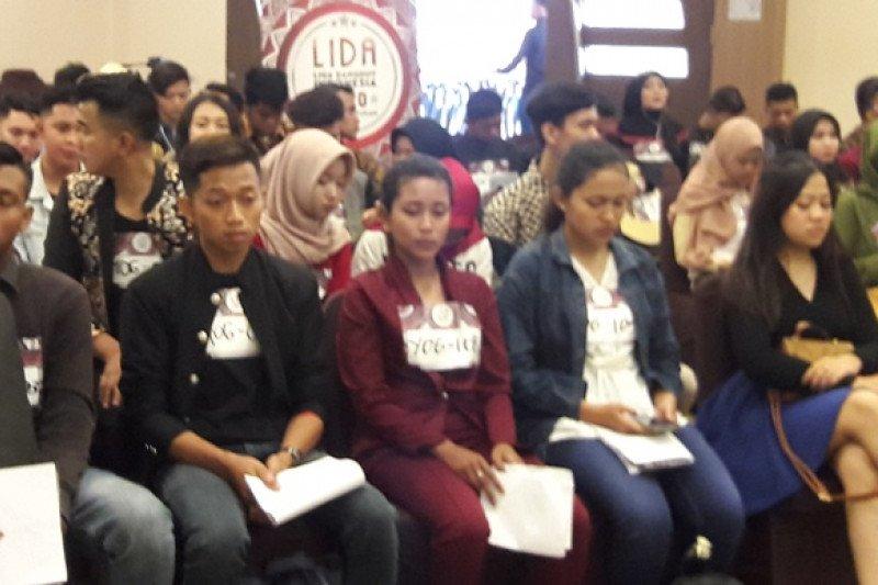 Ratusan peserta ikut audisi Lida 2020 di Yogyakarta ...