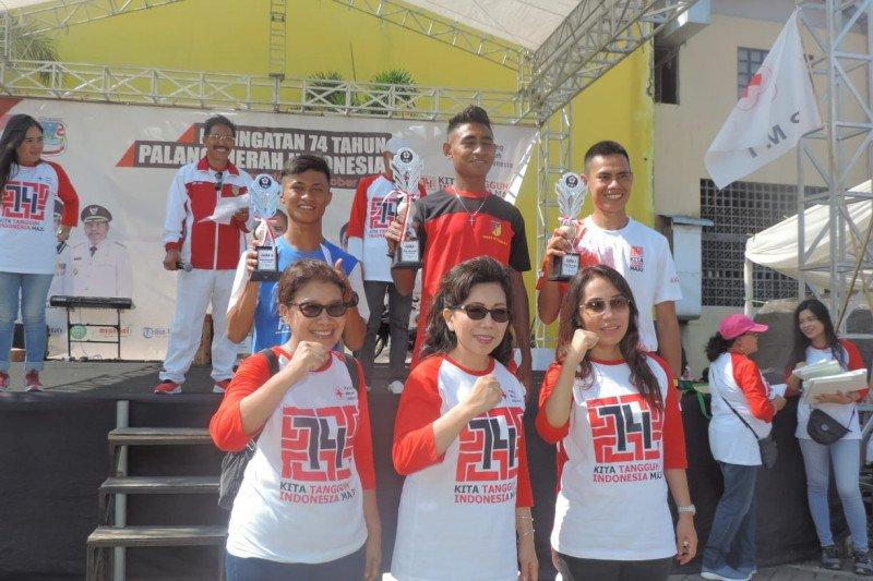 Atlet Kodam XIII/Merdeka raih prestasi pada kejuaraan HUT PMI