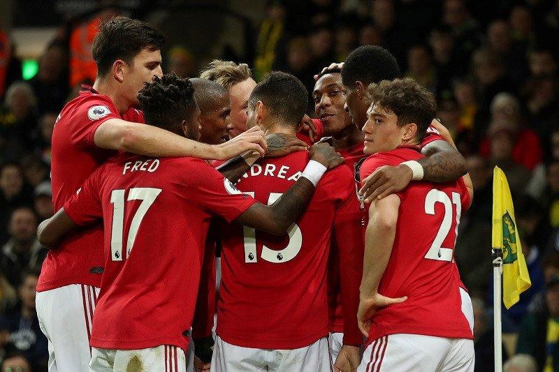 MU kalahkan Norwich 3-1