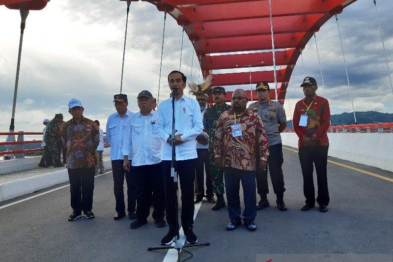 Presiden Jokowi: Belum ada usulan revisi Undang-Undang Otonomi Khusus Papua