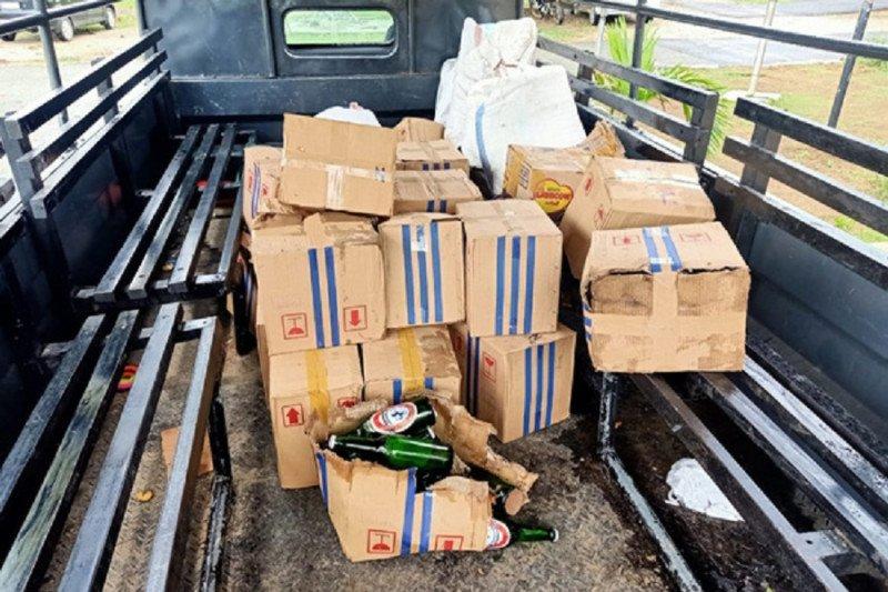 Penyelundup 134 karton miras di Papua divonis Rp30 juta