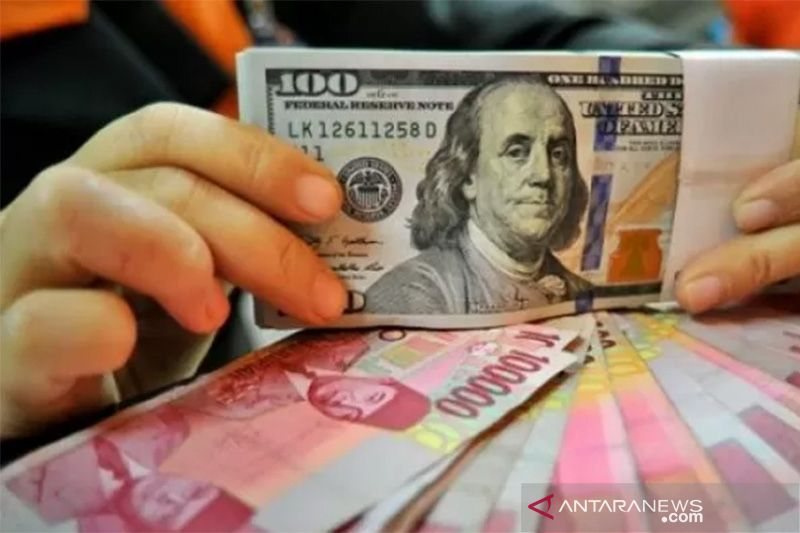Kurs Rupiah ditutup melemah ditengah harapan lolosnya paket stimulus AS