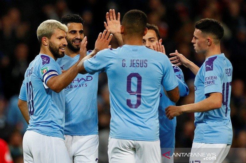 Everton dan Leicester susul Man City melenggang ke perempat final