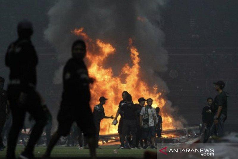 Khofifah: Saya sedih kericuhan di Stadion Gelora Bung Tomo