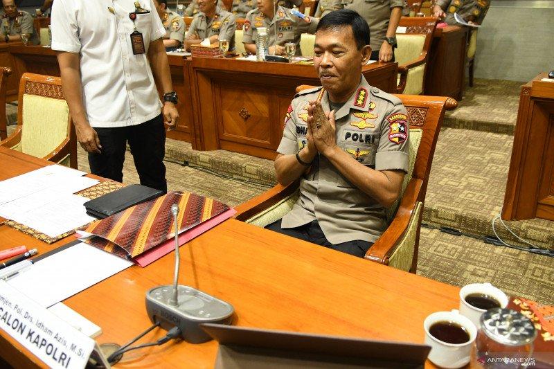 DPR setujui Idham Aziz jadi Kapolri