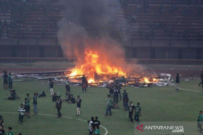 Polda usut kerusuhan suporter di Stadion Gelora Bung Tomo