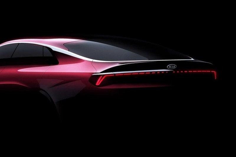 Tampilan futuristik Kia Optima generasi 3