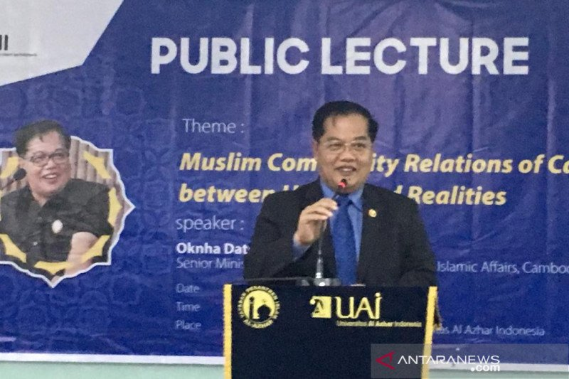 Menteri Kamboja Othsmab kisahkan kedekatan PM Kamboja dengan umat Muslim