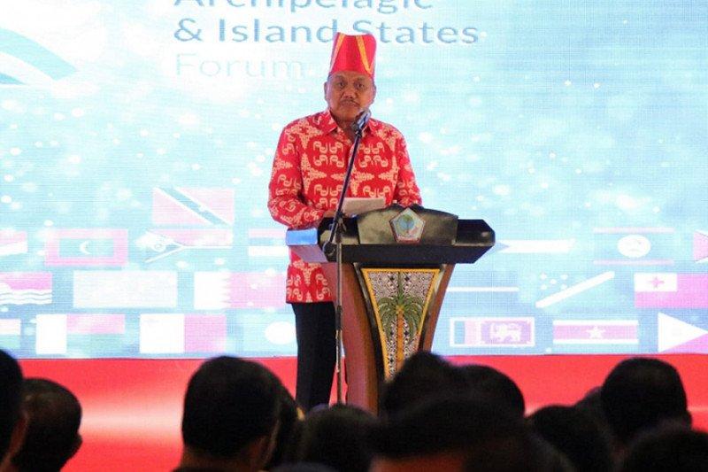Gubernur Sulut: Forum negara pulau-kepulauan angkat isu strategis global