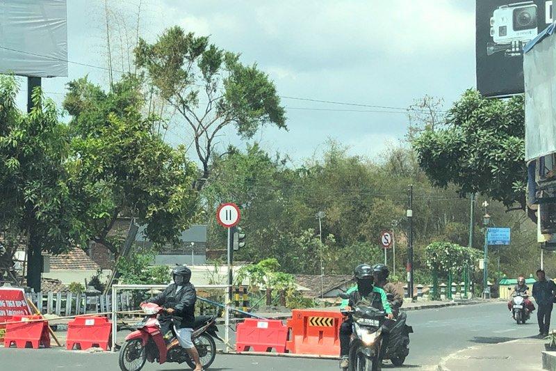 Sejumlah jalan Yogyakarta masih berpotensi tergenang saat hujan