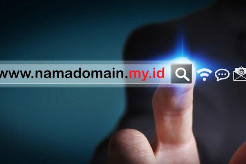 Pengguna nama domain my.id naik tajam
