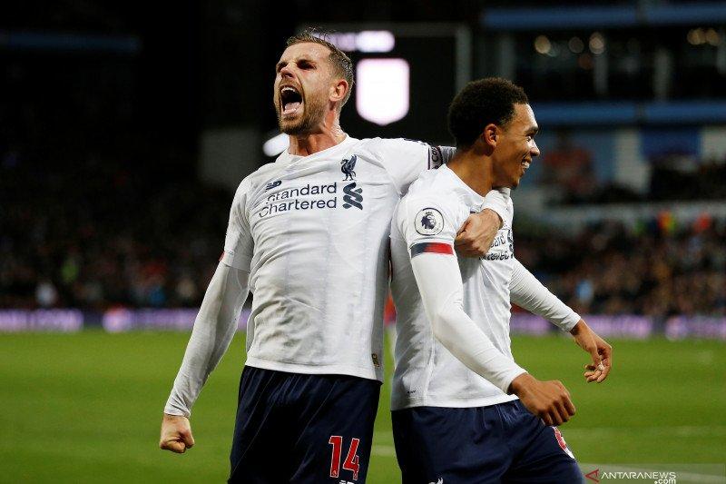 Mane bantu Liverpool kalahkan Aston Villa