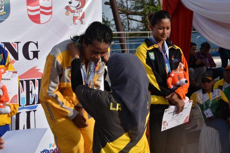 Lampung peroleh medali emas cabang renang Porwil