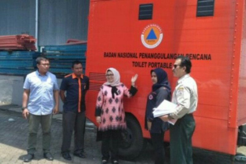 Sulbar  terima bantuan tenda darurat dari BNPB