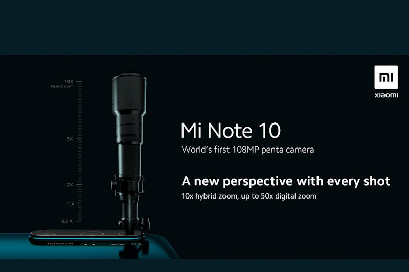 Xiaomi pamer Mi Note 10 dengan kamera 108MP