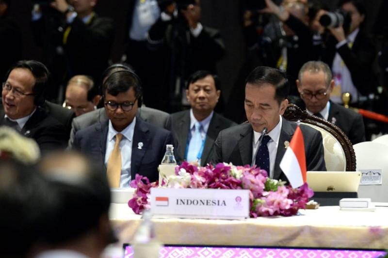 Jokowi dorong ASEAN tindaklanjuti kerja sama Indo-Pasifik