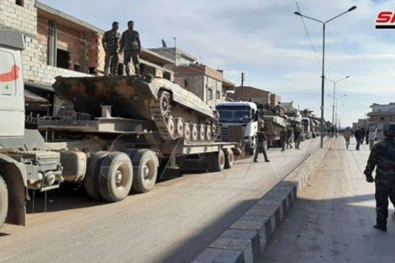 Serangan bom Suriah, sejumlah tentara Turki tewas