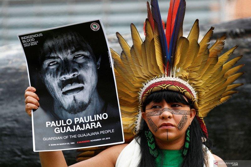 Antisipasi COVID-19, kelompok pribumi Amazon minta sumbangan