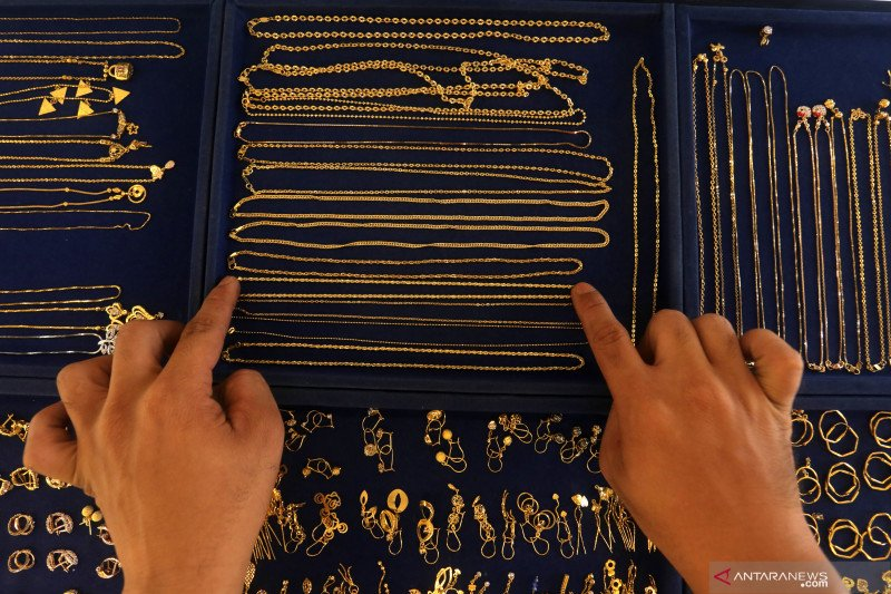 Harga emas perhiasan di Palembang melonjak jadi Rp4,25 ...