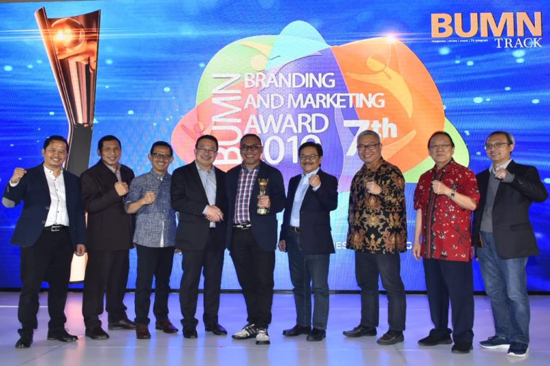 PGN raih tiga penghargaan dari BUMN Branding and Marketing Award 2019