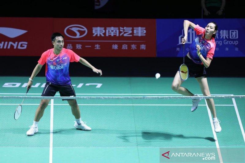 Tundukkan Wang/Cheng, Hafiz/Gloria melaju ke babak dua Hong Kong Open 2019