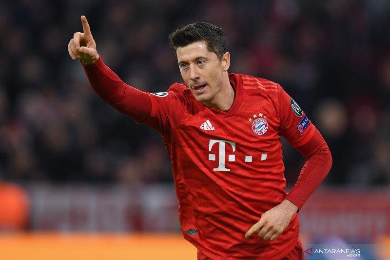Liga Champions - Bayern rebut tiket 16 setelah hantam Olympiakos 2-0