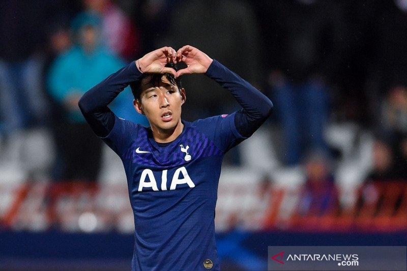 Spurs tundukan Red Star berkat dwigol dari Son