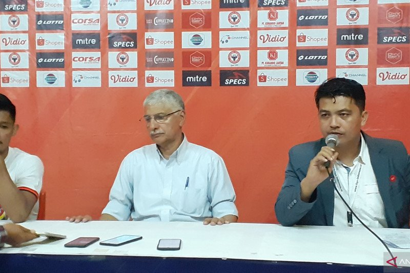 Novri Setiawan, pesepakbola asal Padang menjadi punggawa terbaik Persija