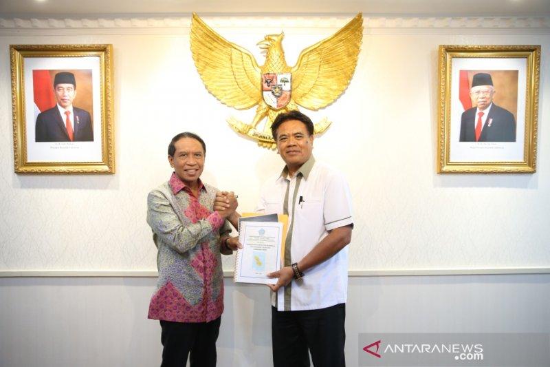 Menpora janjikan tambah dana pembangunan GOR di Kepulauan Sangihe