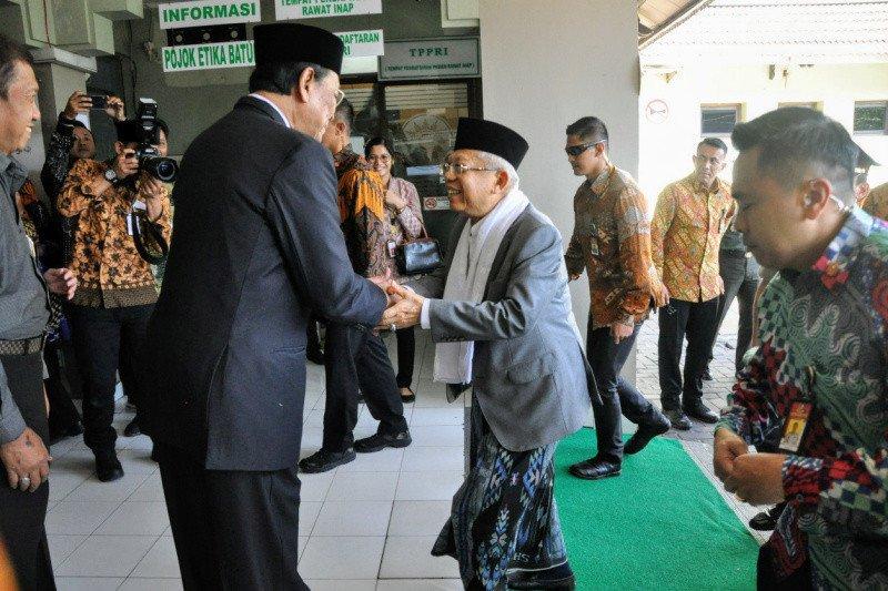Wakil Presiden besuk Waketum MUI di RS PKU Yogyakarta