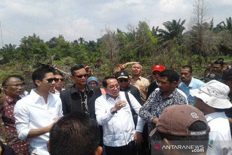 Karhutla Riau habiskan Rp468 miliar bikin sedih ponakan Prabowo, ini sebabnya