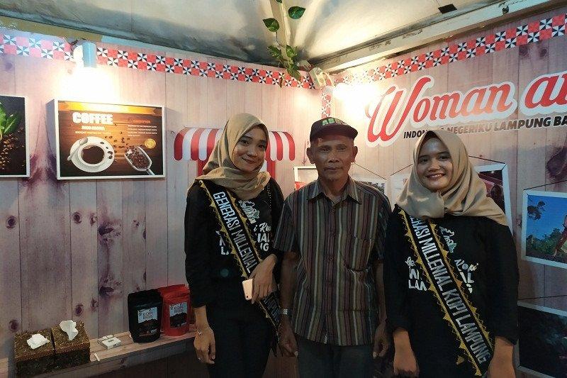 Wanita milenial jadi pasar potensial kopi Lampung