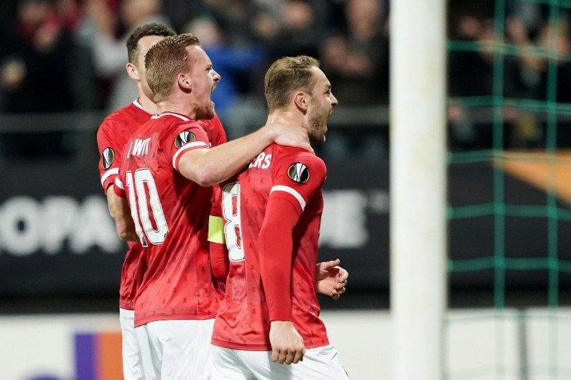 Liga Europa -- Bantai Astana 5-0, Alkmaar masih tak terkalahkan