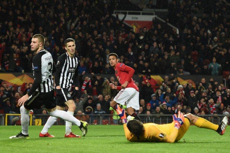 Liga Europa -- MU dan Espanyol lolos ke fase gugur